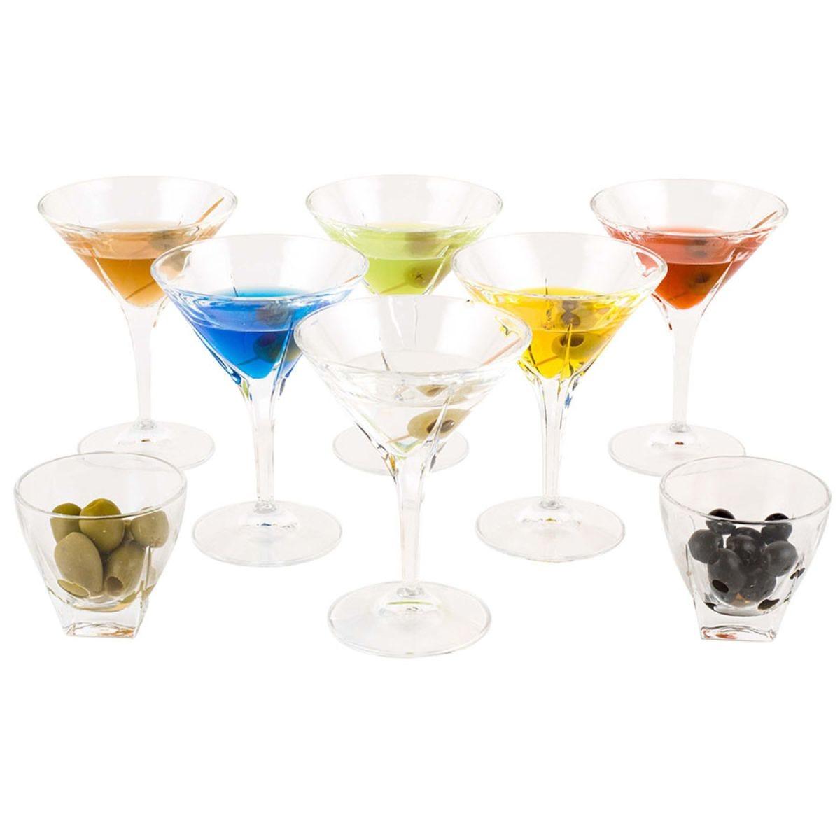 RCR Fusion Martini Glasses and Bowls Set