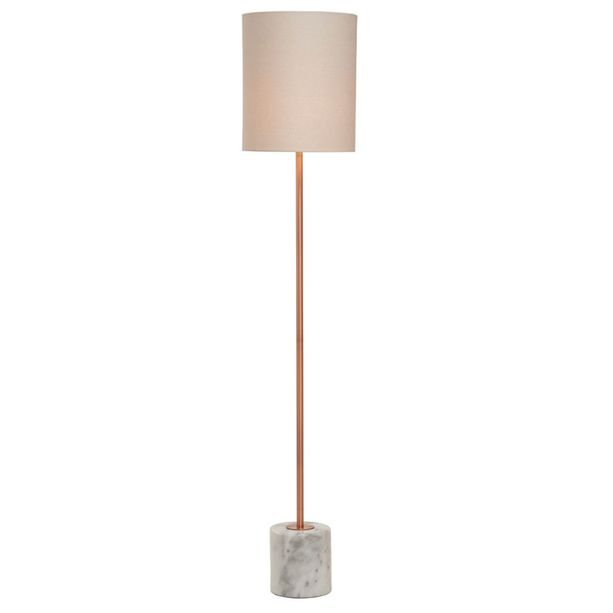Village At Home Bianco Floor Lamp - Copper
