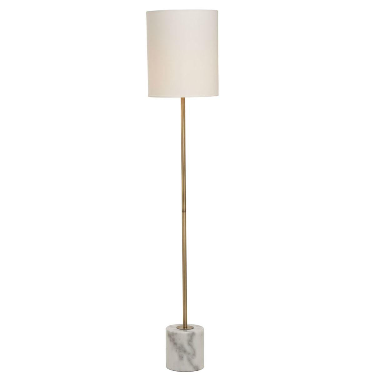 Village At Home Bianco Floor Lamp - Antique Brass
