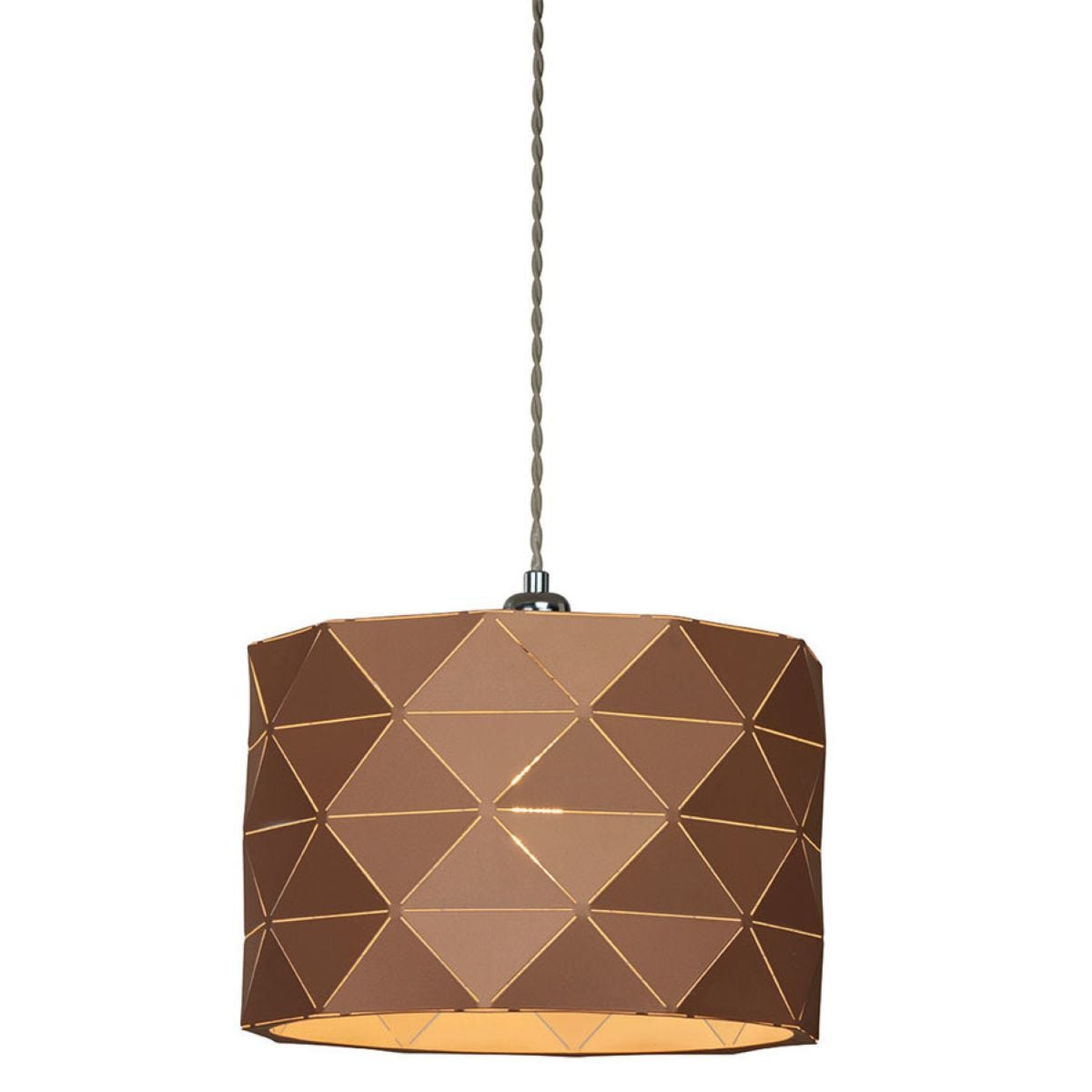 Village At Home Shadow Ceiling Light Pendant - Gold