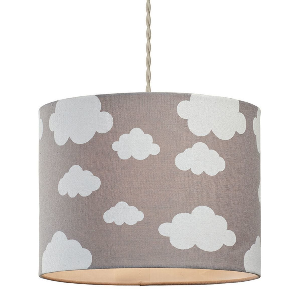 Village At Home Cloudy Day Light Shade - Taupe