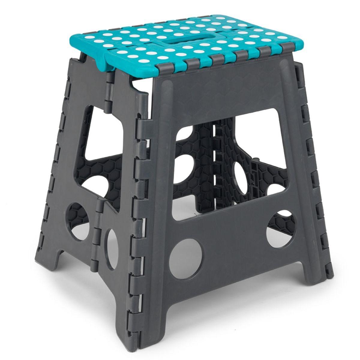 Beldray Large Plastic Hobby Step Stool – Turquoise