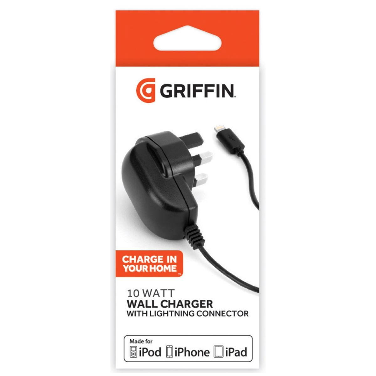 Griffin 2.1A Lightning Wall Charger