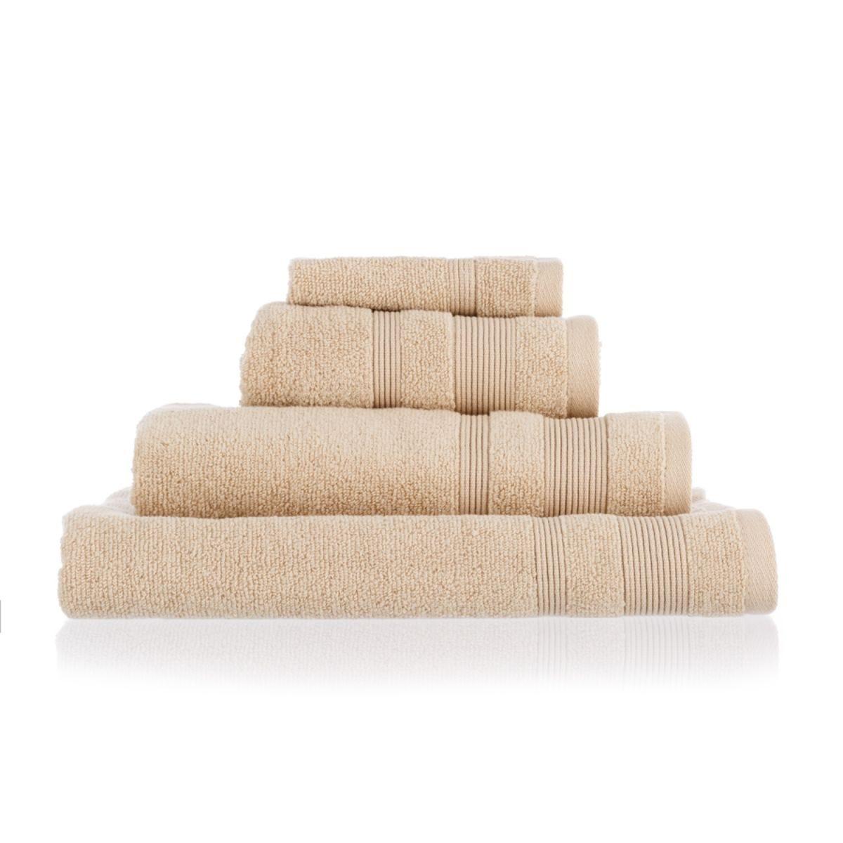 Allure Zero Twist Bath Sheet - Stone