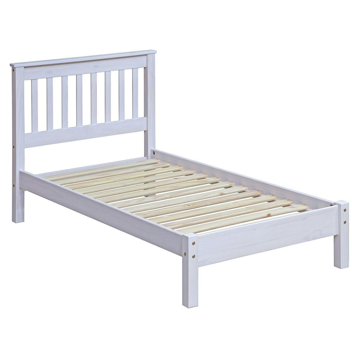 Halea Pine 3' Single Bed - White
