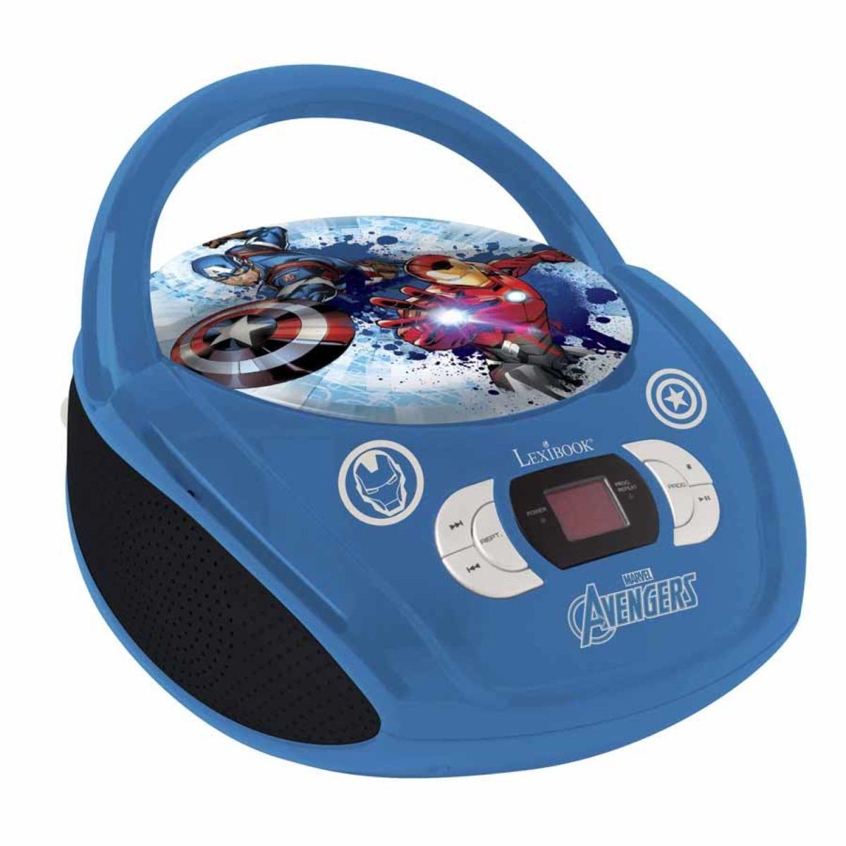 Lexibook Avengers Radio and CD Player