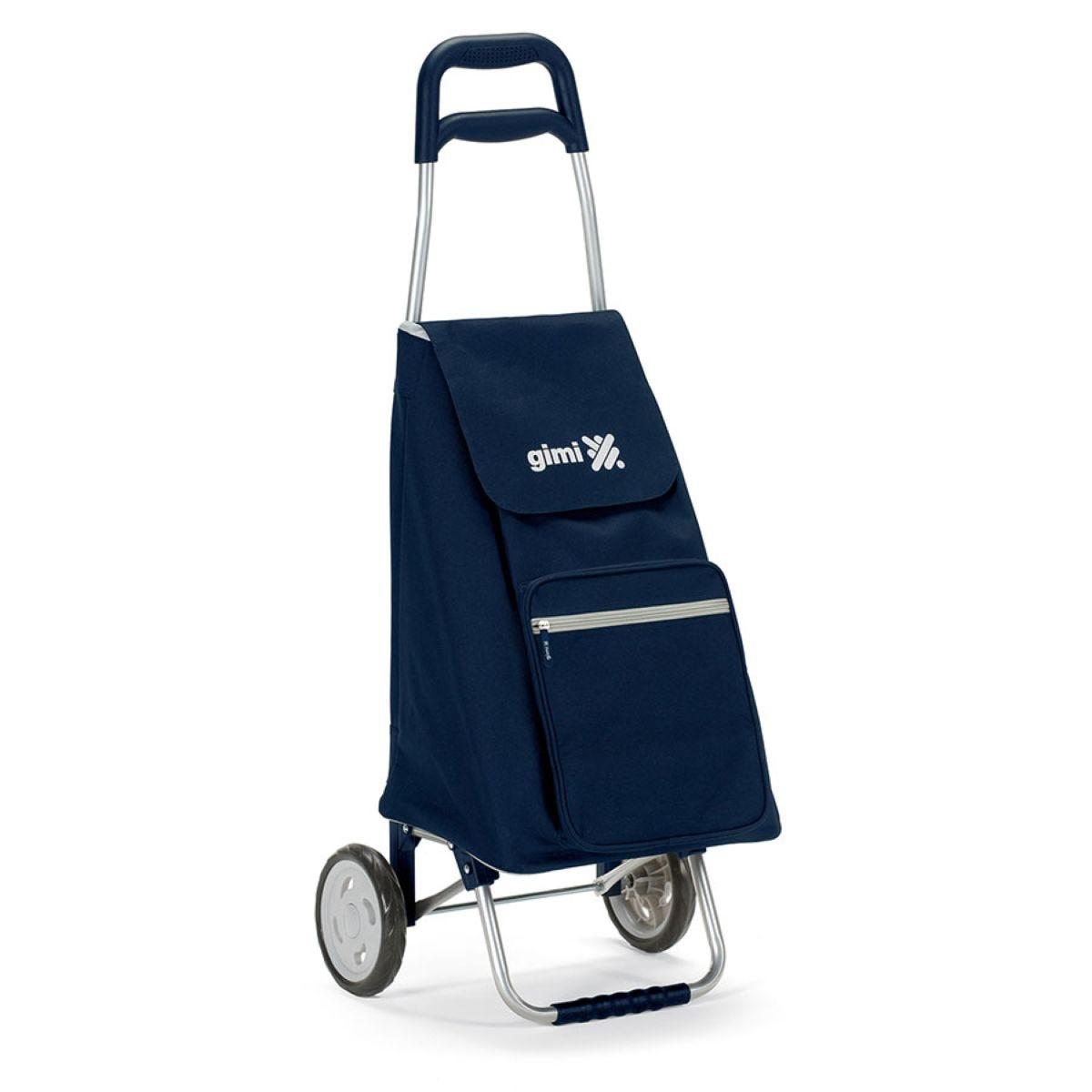 Gimi Argo 45L Shopping Trolley - Blue