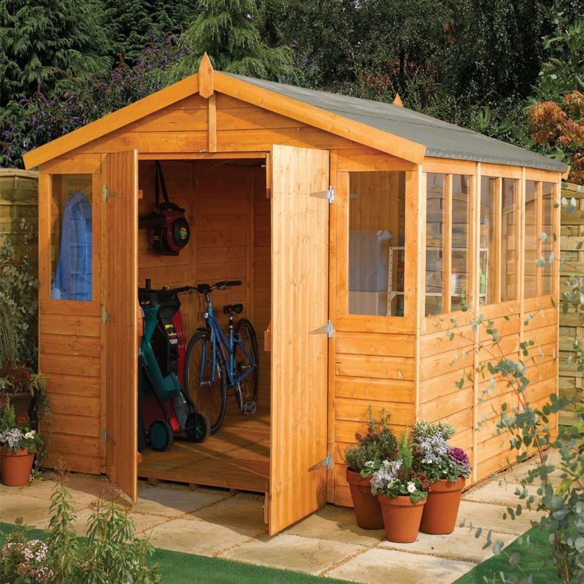 Rowlinson 9' x 6' Wooden Workshop