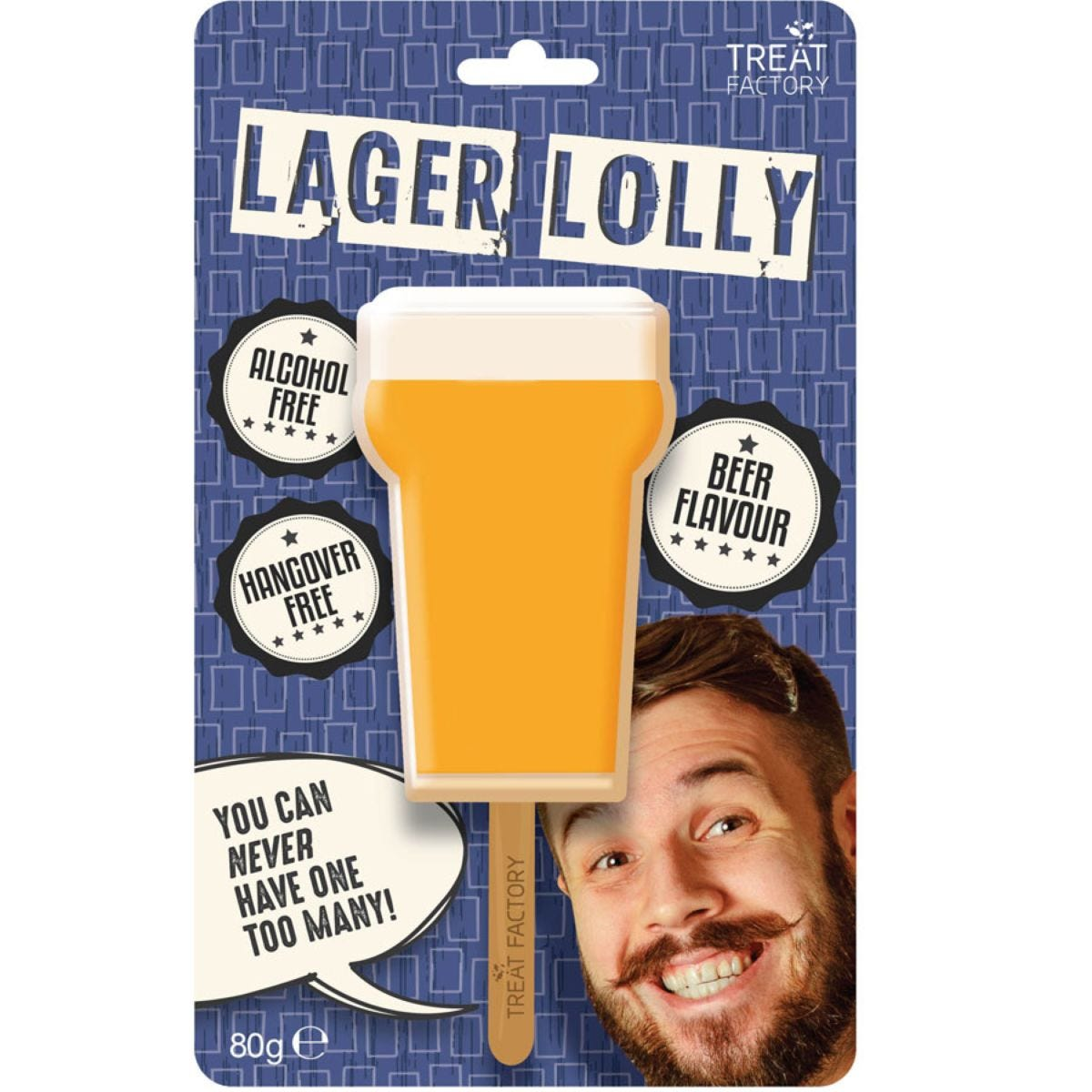 Alcohol Free Lager Lolly