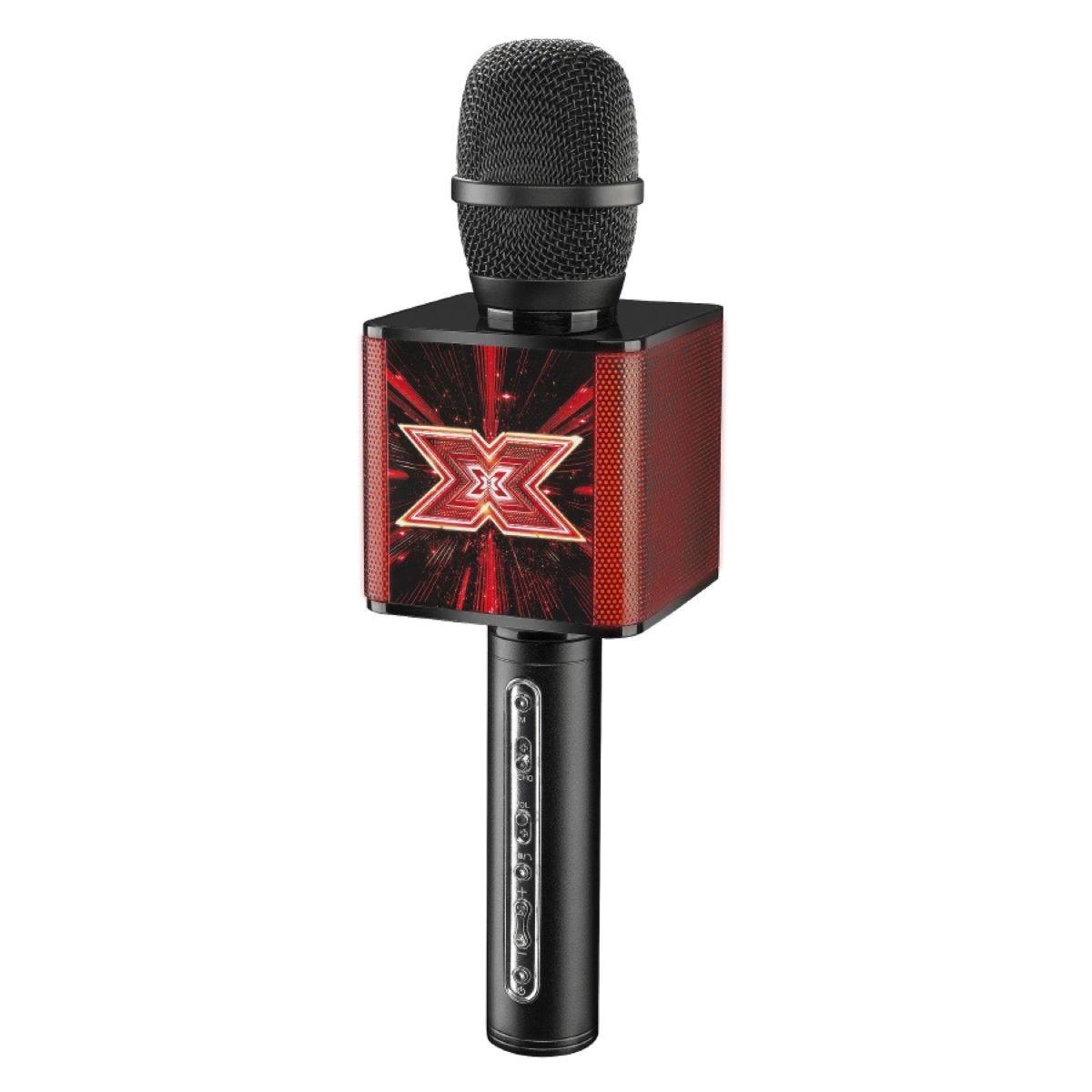 X-Factor Karaoke Wireless Microphone & Bluetooth Speaker