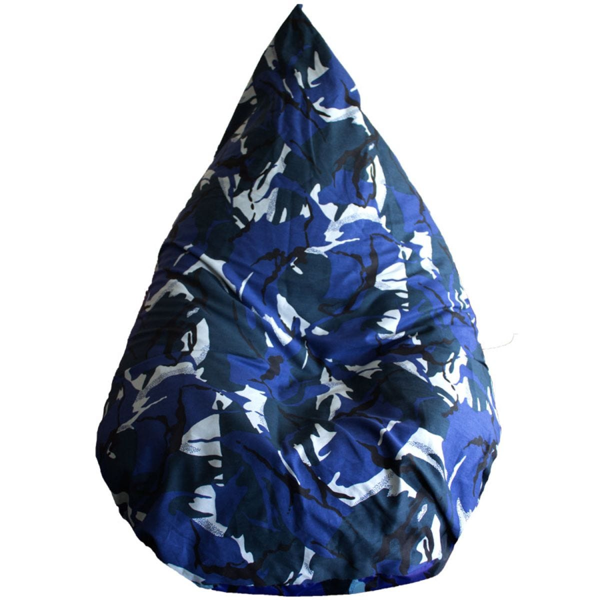 Cuddle Bed™ Large Tear Drop Cord Bean Bag - Camouflage