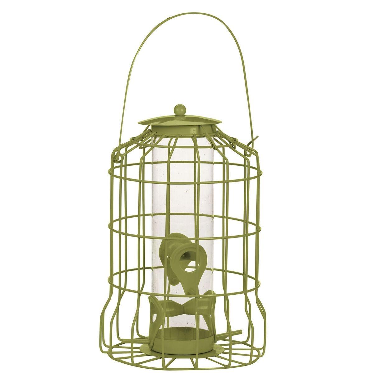 Chapelwood Bird Seed Feeder - Olive Green