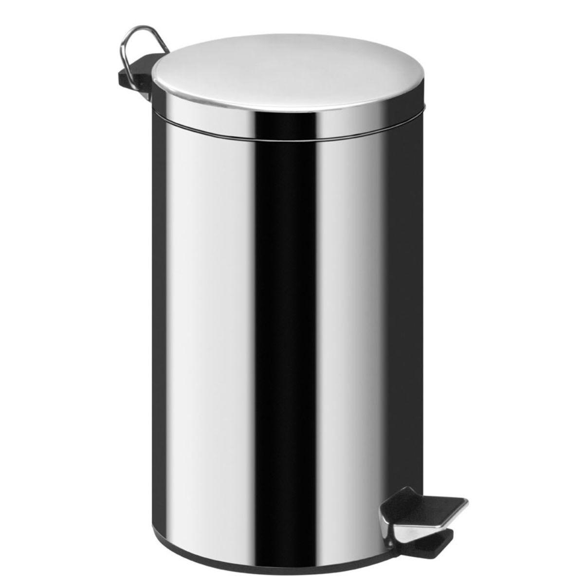 Premier Housewares 20L Pedal Bin - Silver