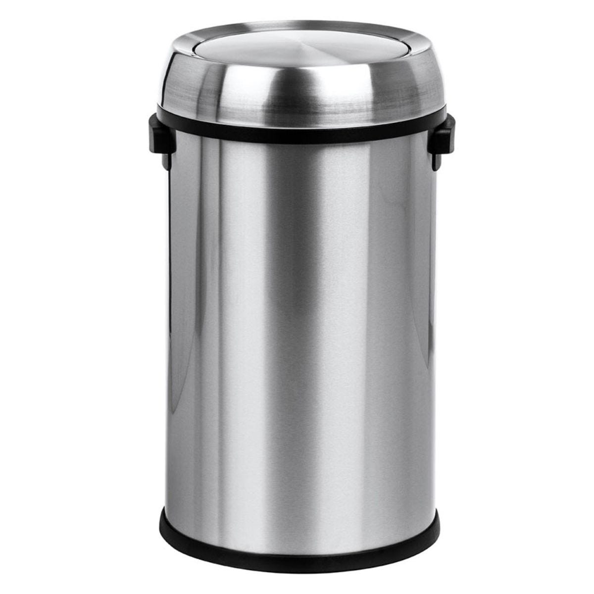 Premier Housewares 65L Swing Bin - Stainless Steel