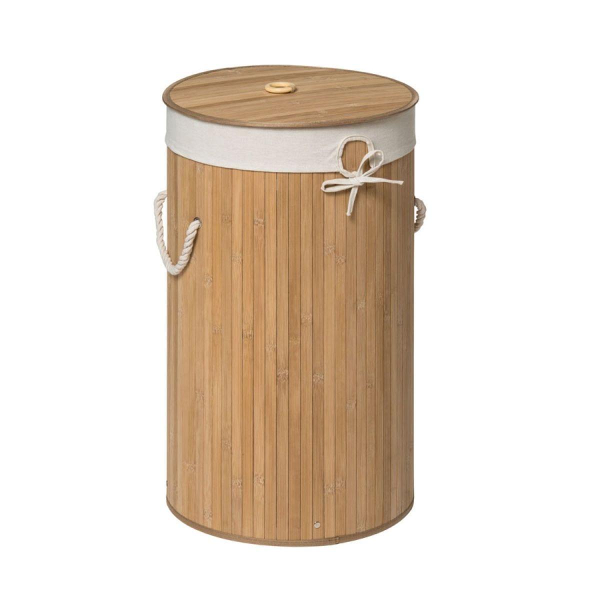 Premier Housewares Kankyo Bamboo Laundry Hamper - Natural