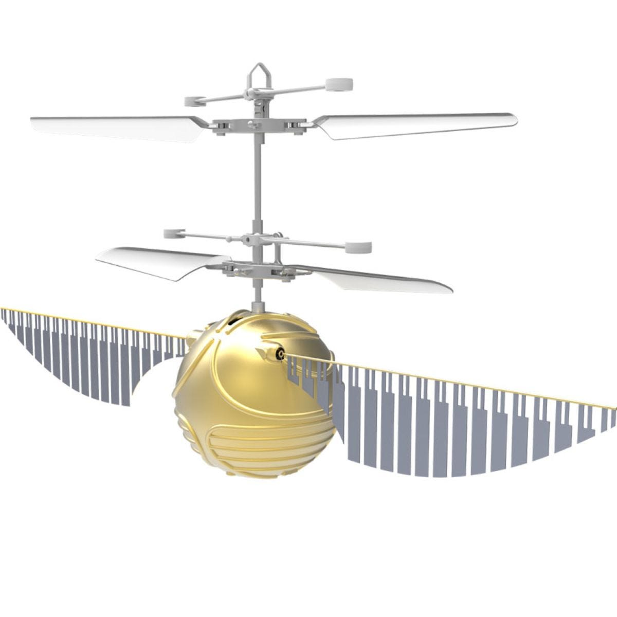 Wizarding World Harry Potter Golden Snitch Heliball Drone - Gold