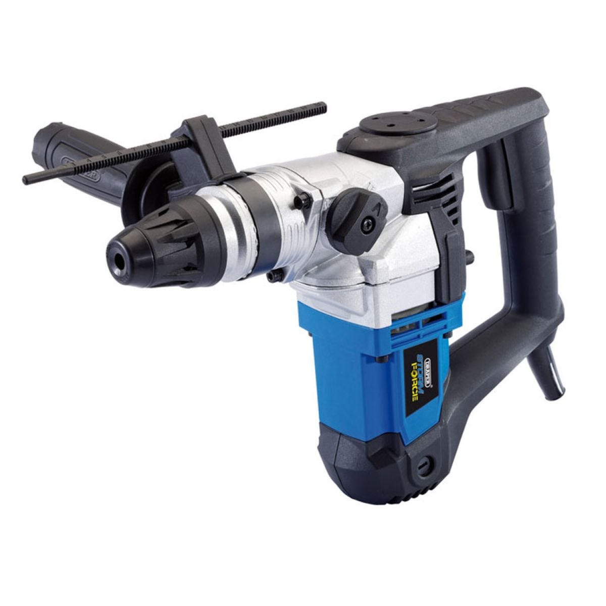 Draper 900W Storm Force SDS+ Rotary Hammer Drill Kit with Rotation Stop