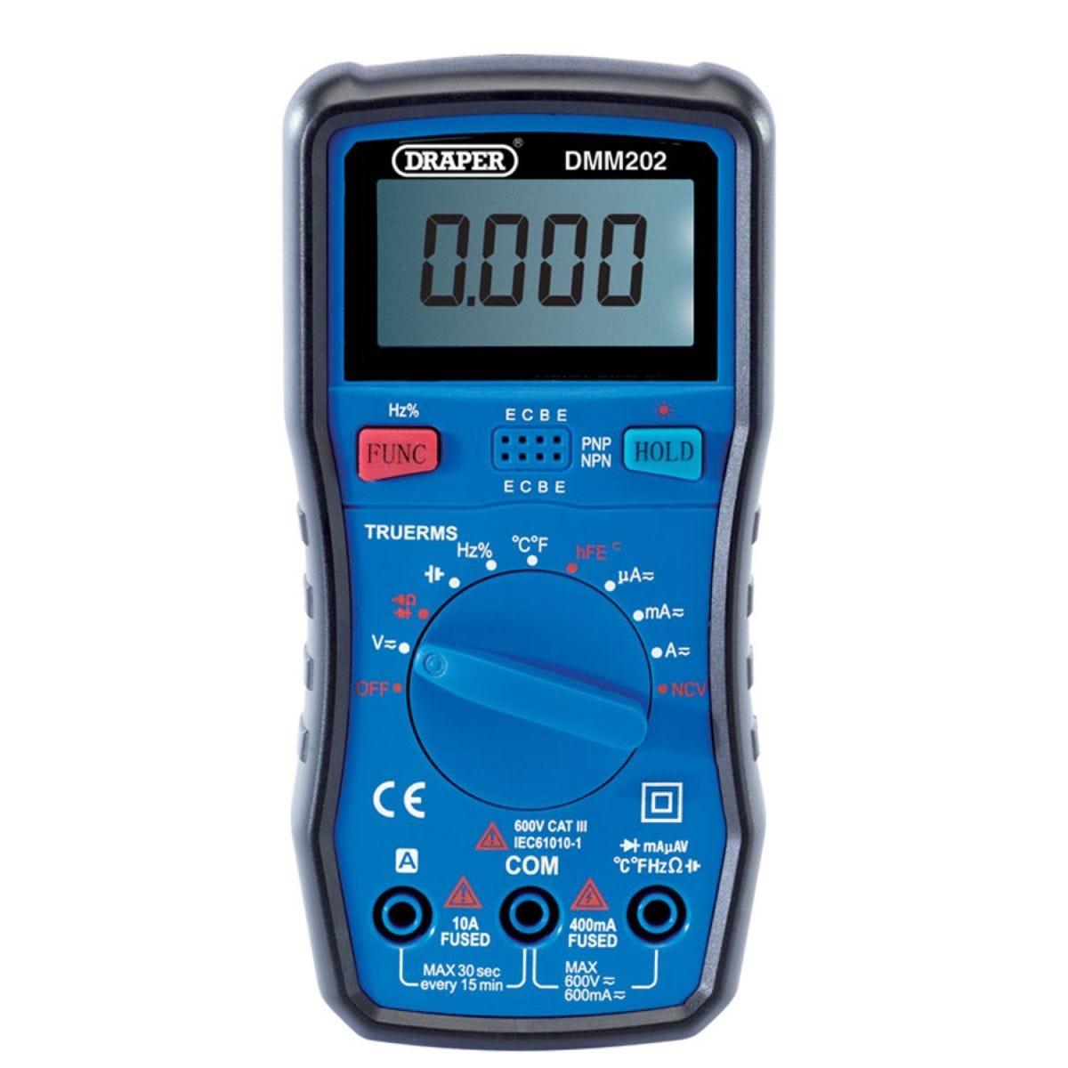 Draper DMM202 Auto Ranging Digital Multimeter