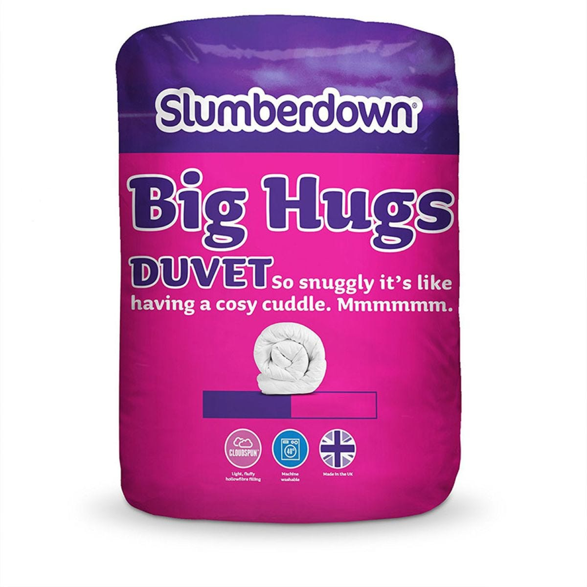 Slumberdown Big Hugs Duvet 4.5 Tog