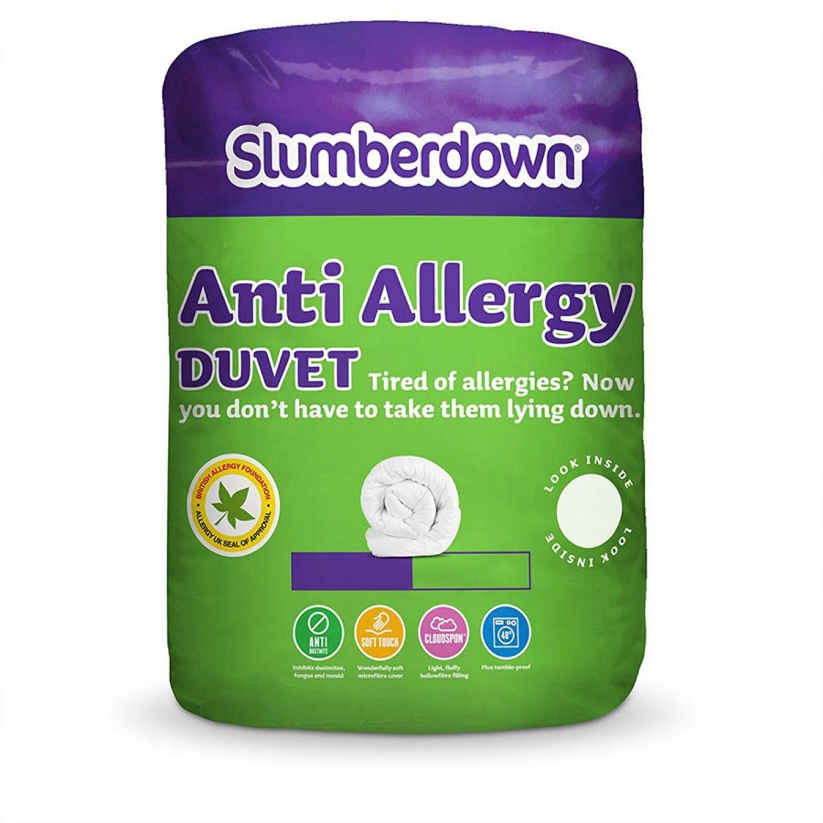Slumberdown Anti-Allergy Duvet 10.5 Tog