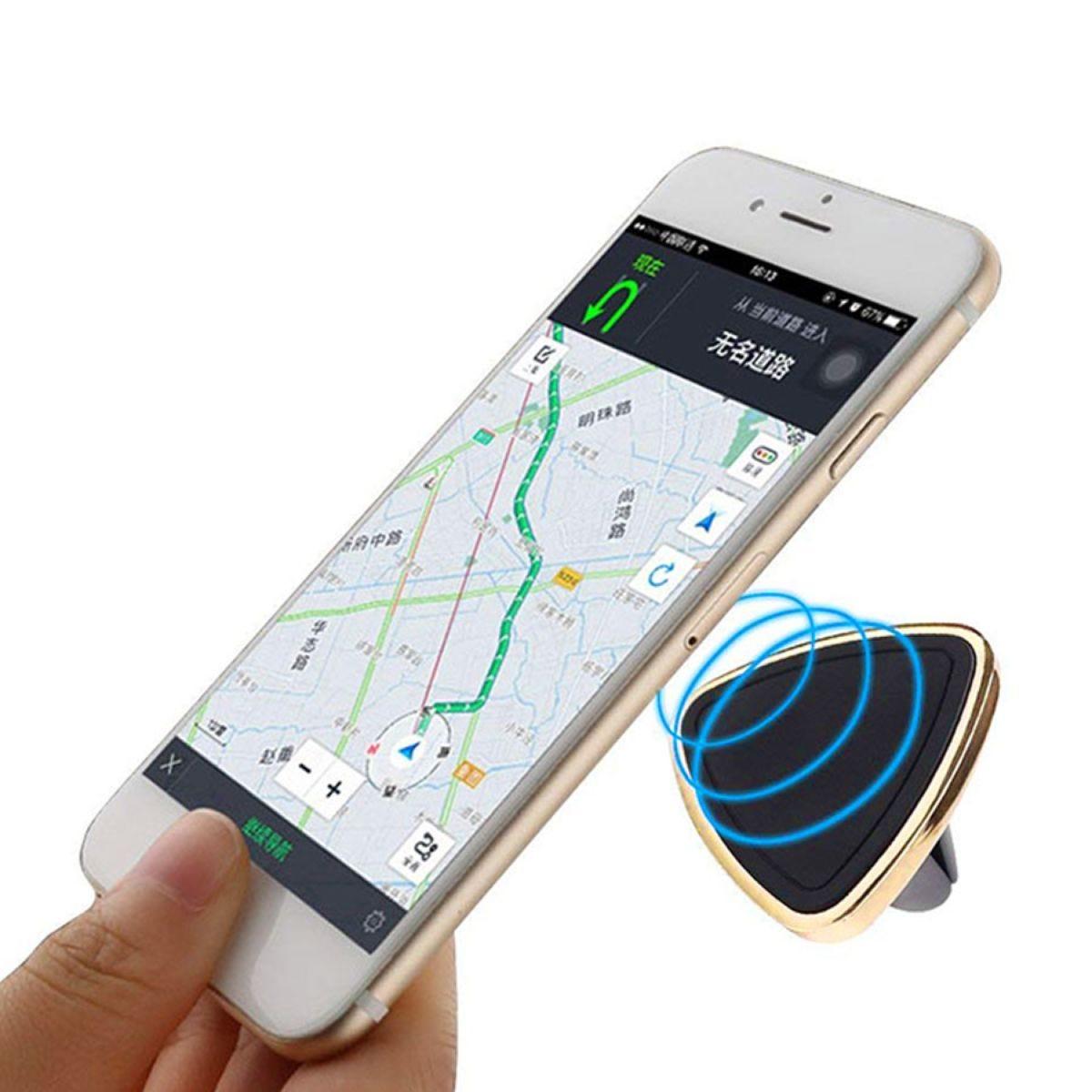 Aquarius In-Car Magnetic Phone Holder - Gold