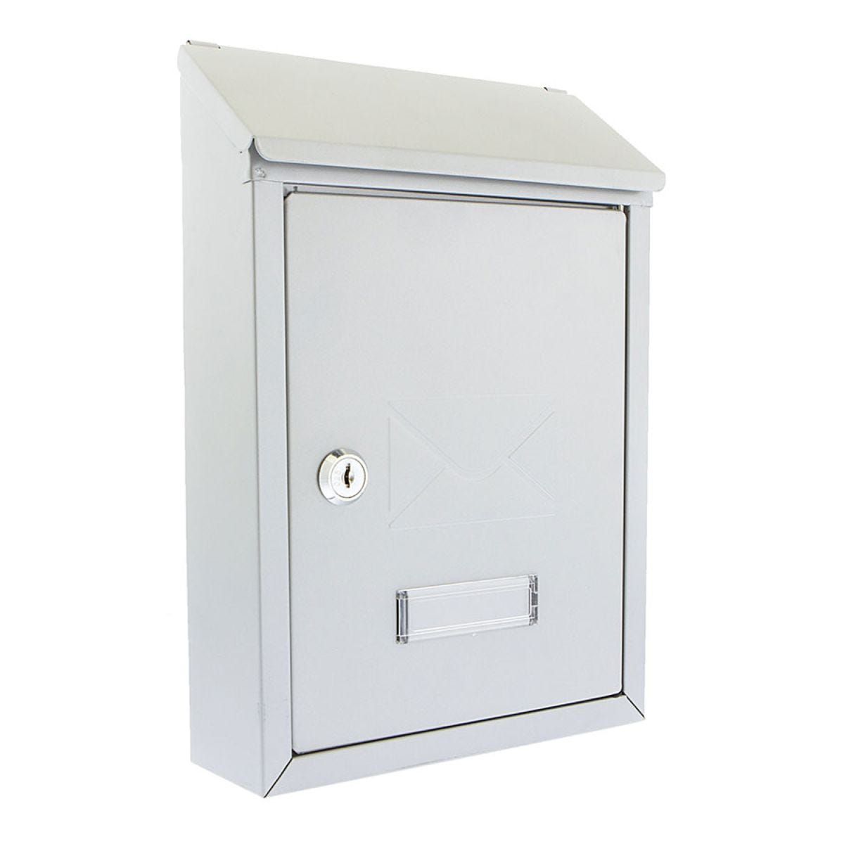 Sterling Avon Compact Post Box - Silver