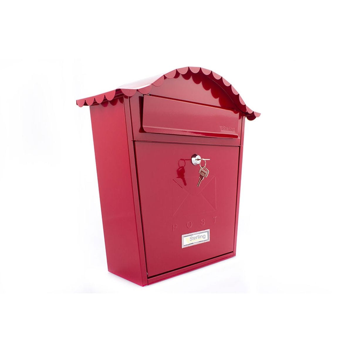 Sterling Classic Post Box - Red