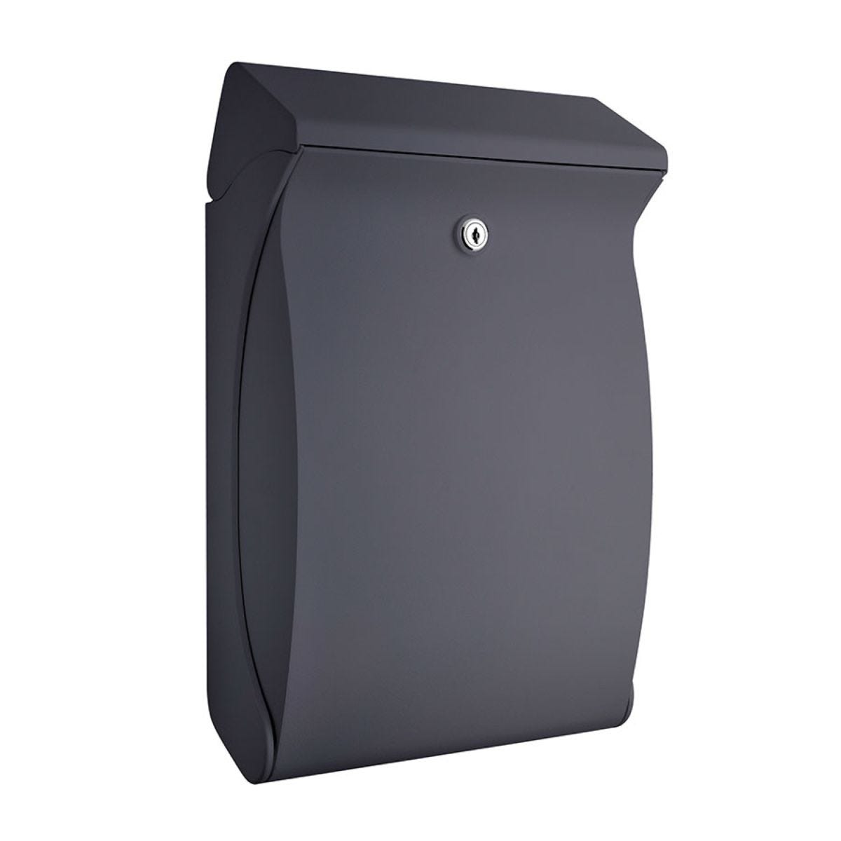 Burg-Wachter Swing Post Box - Anthracite