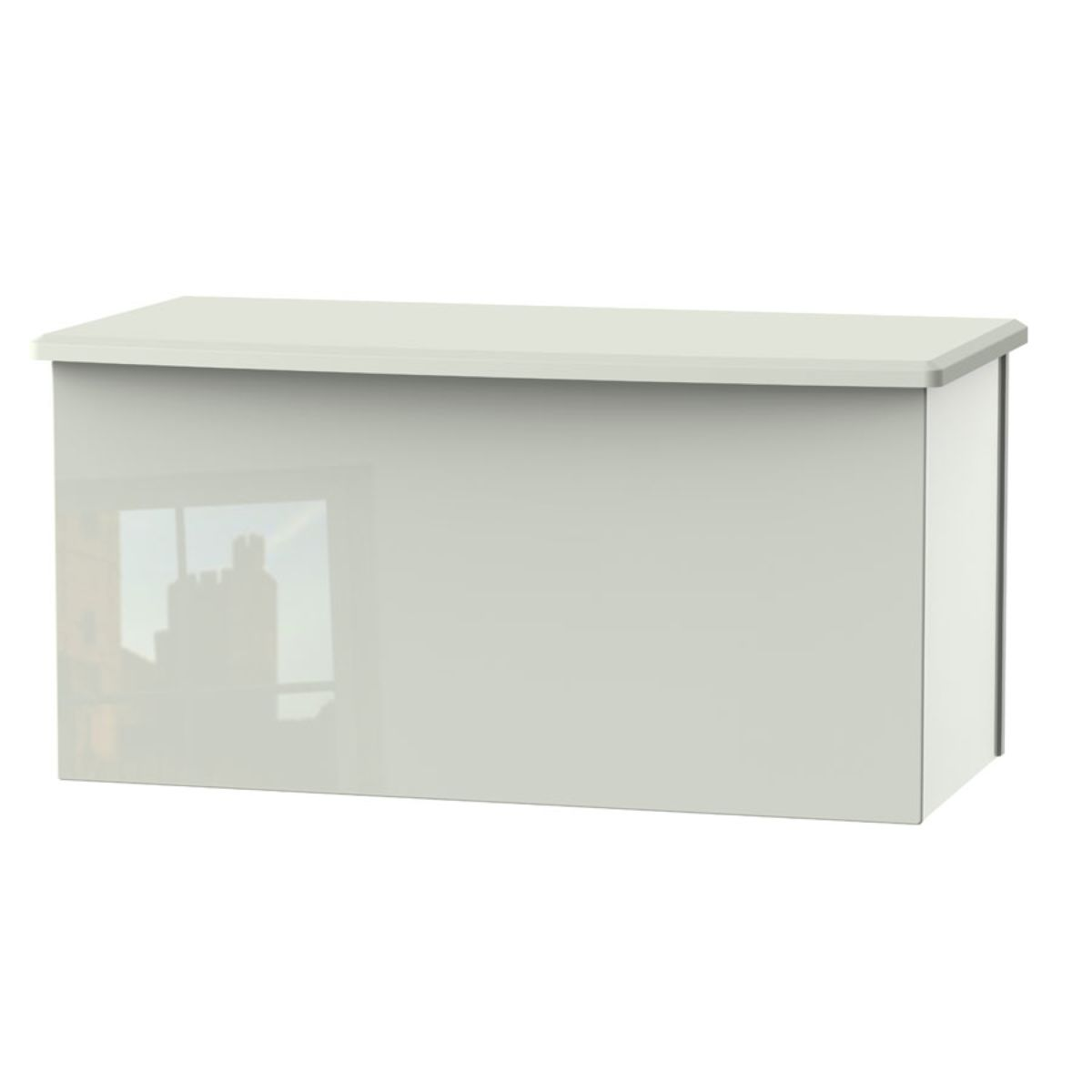 Indices Blanket Box - White/Grey
