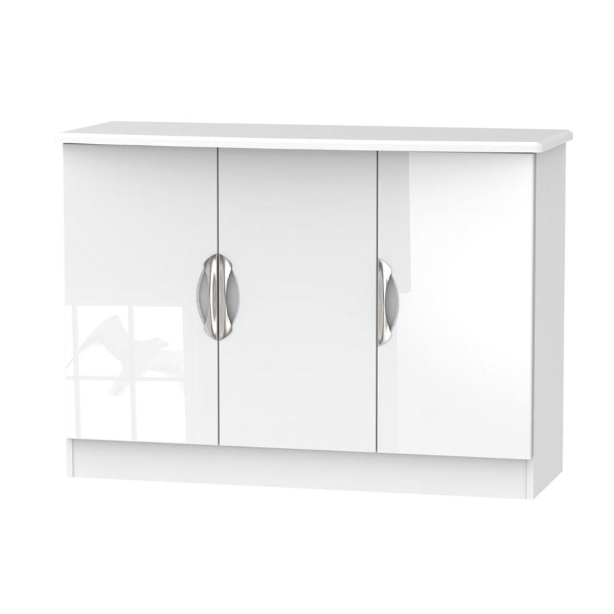 Indices Triple Door Sideboard - White