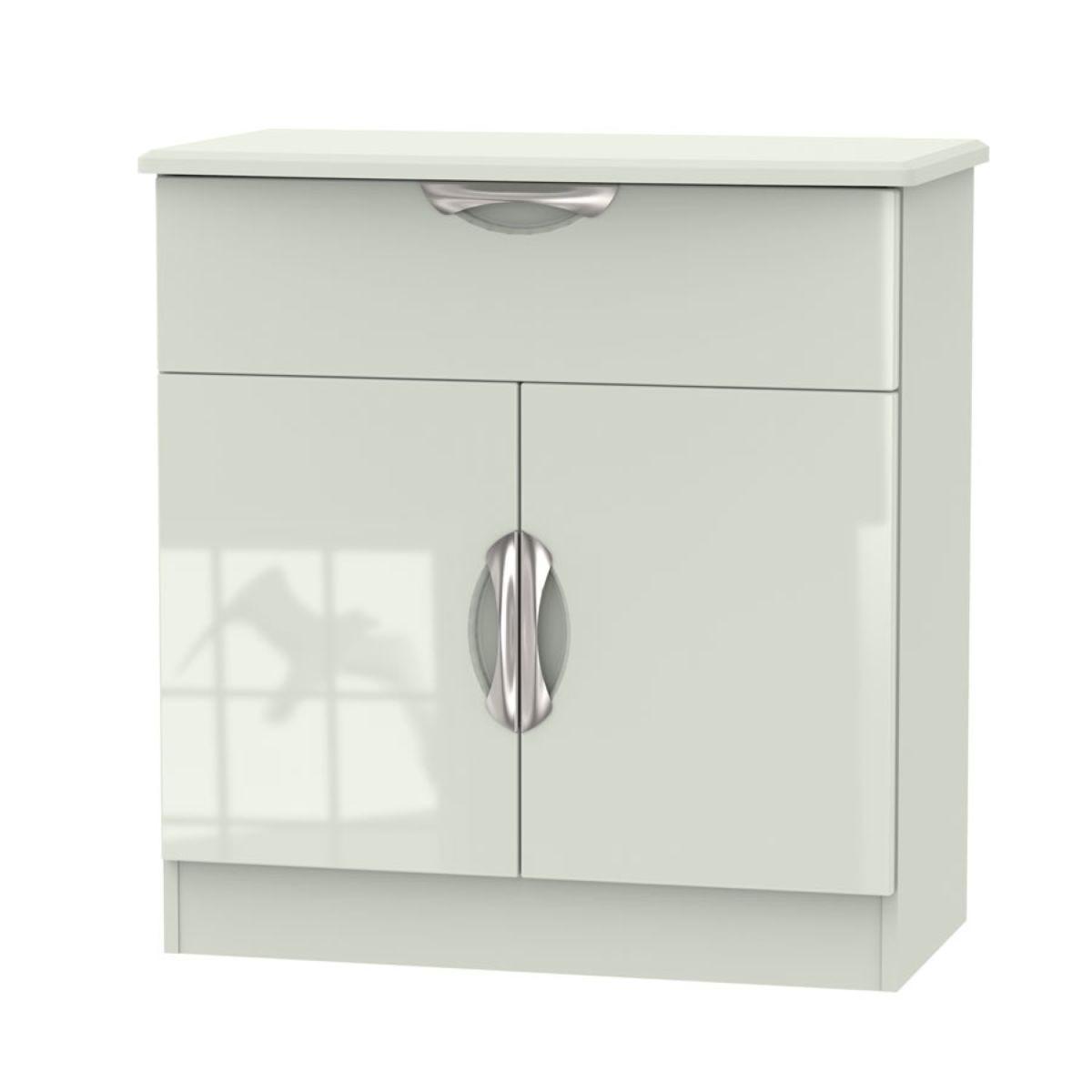 Indices 1-Drawer, Double Door Sideboard - Beige
