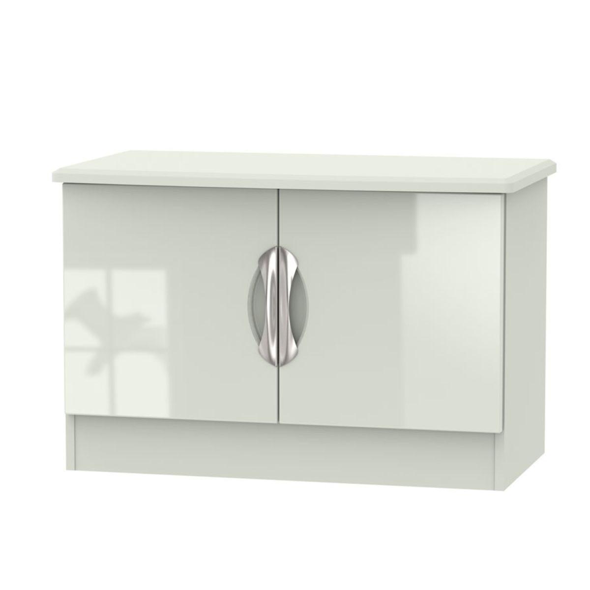 Indices Double Door Short Sideboard Unit - Beige