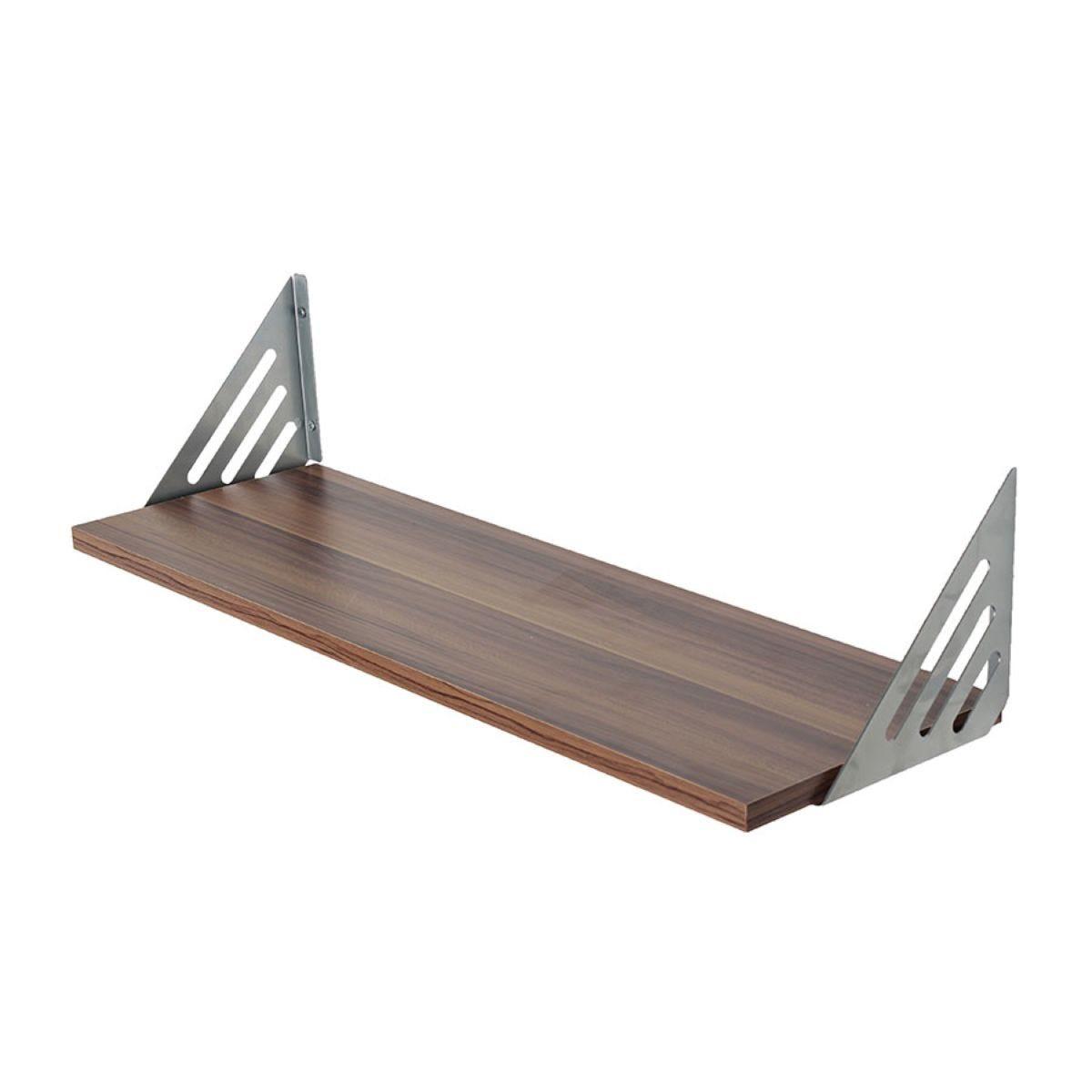 Core Products 60cm Floating Shelf Kit with Bracket - Walnut