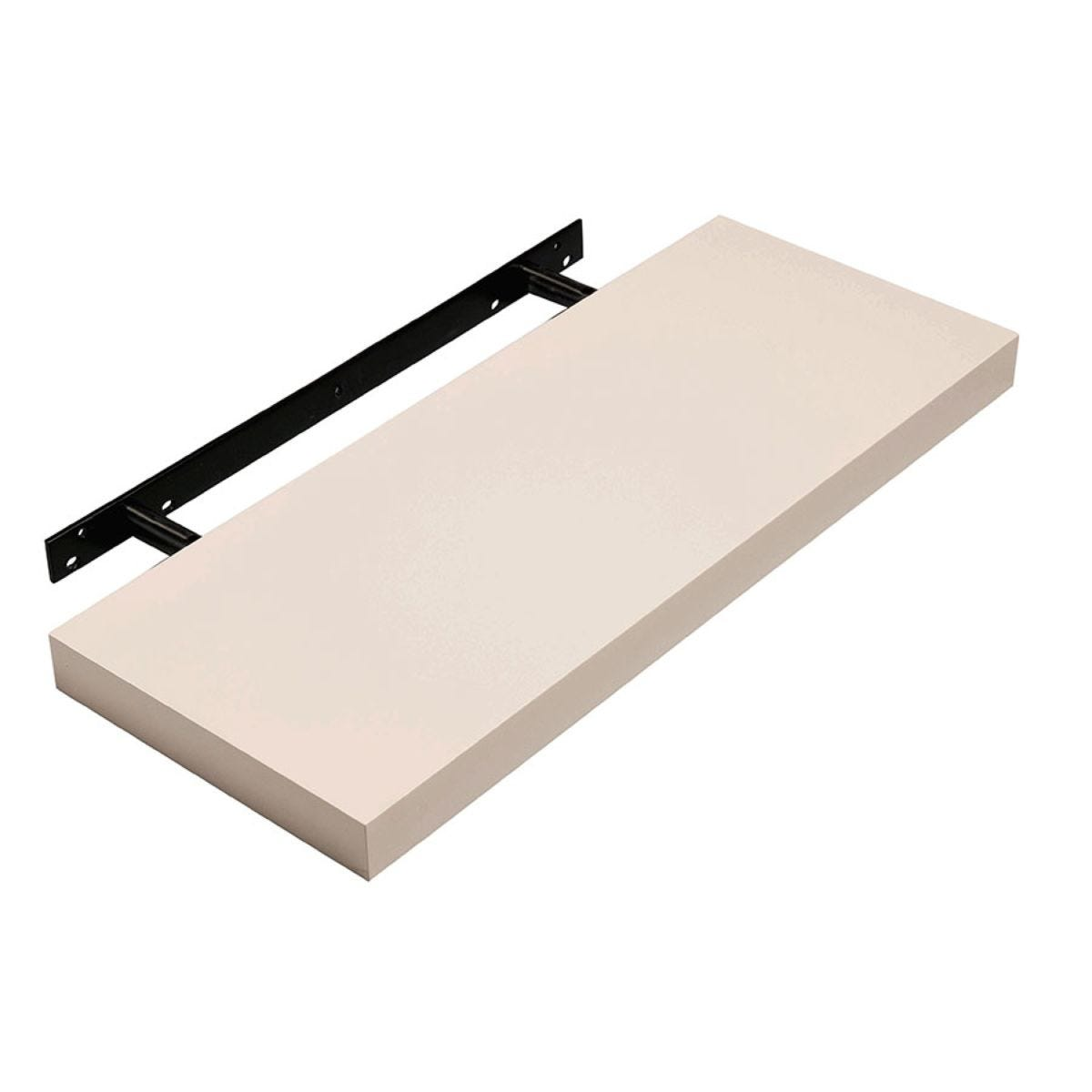 Core Products 60cm Floating Shelf Kit - Cream