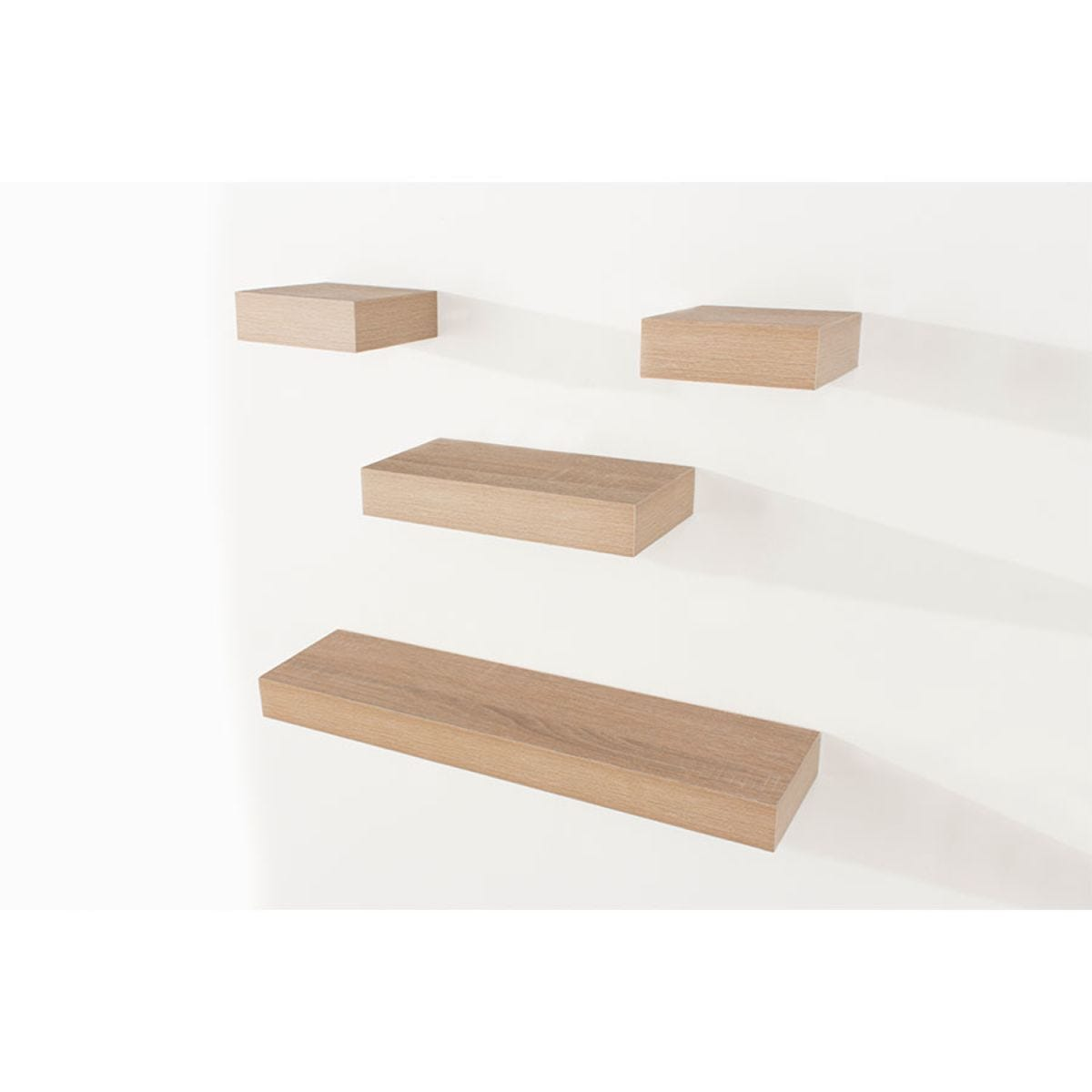 Core Products Set of 4 Shelf Kit - Oak