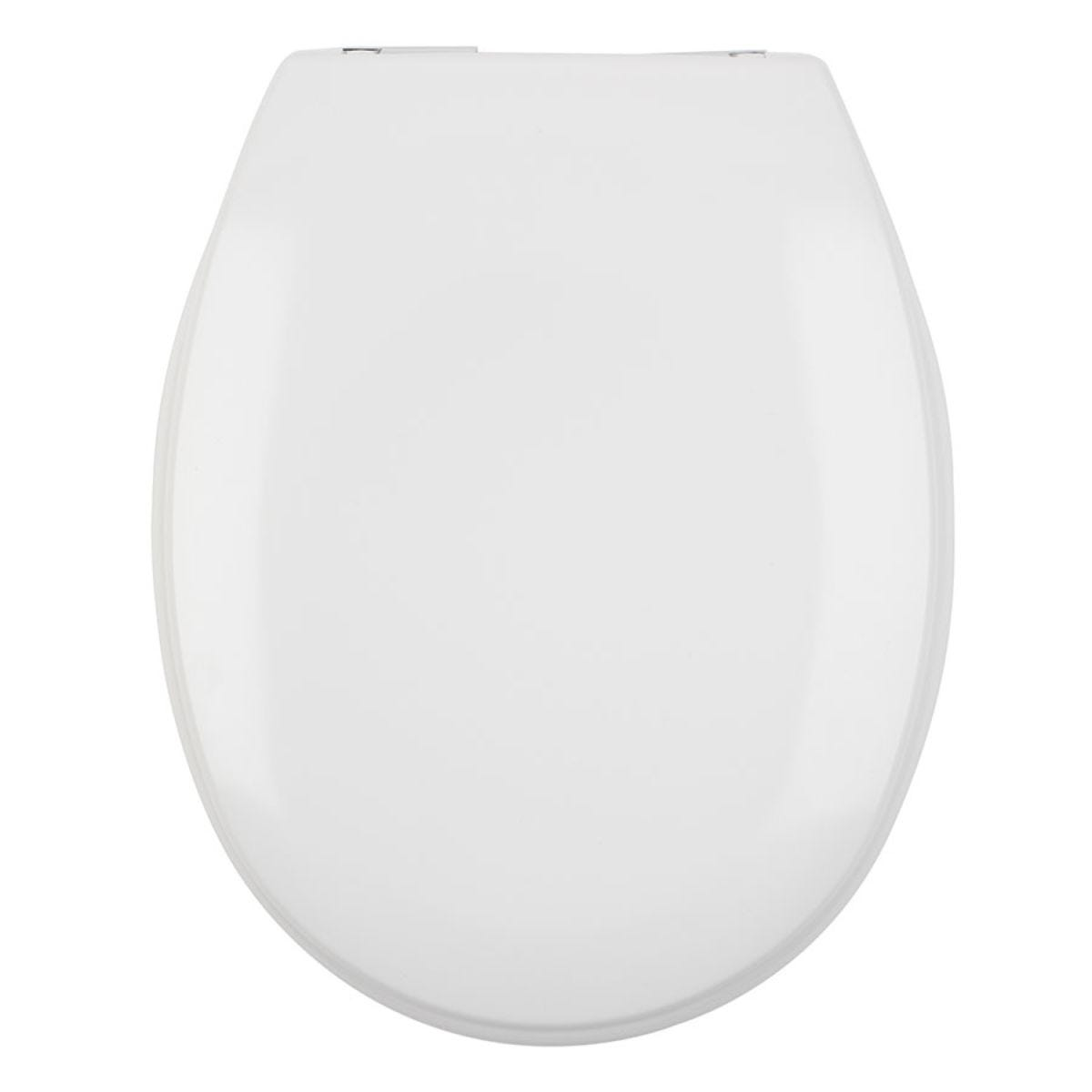 Beldray Duroplast Easy Fit Soft Close Toilet Seat - White