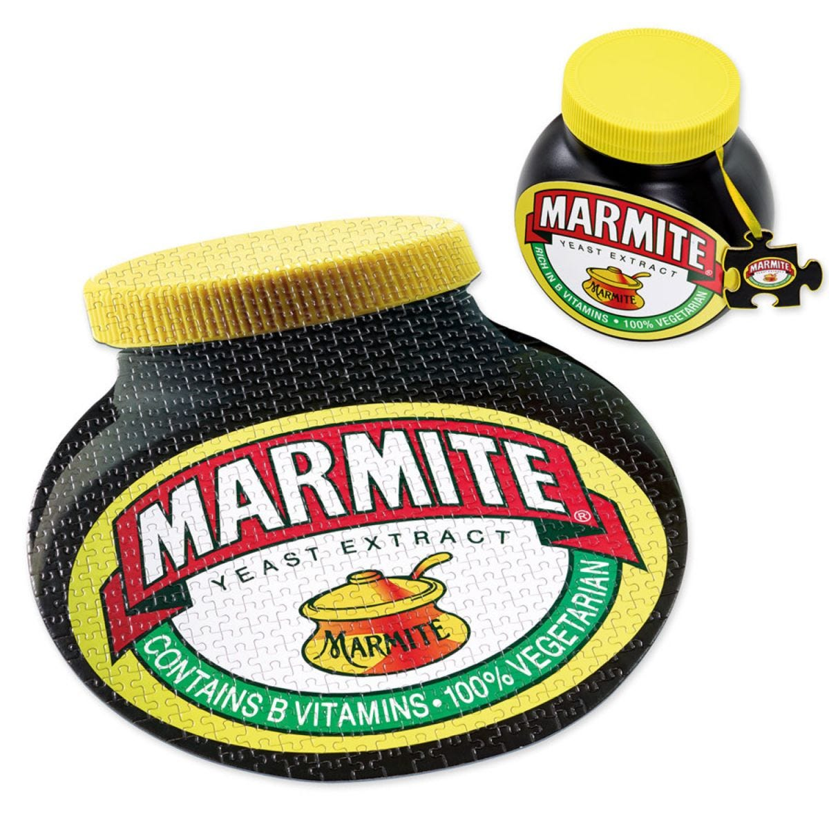 Gibsons Marmite 500 Piece Double-Sided Jigsaw Puzzle