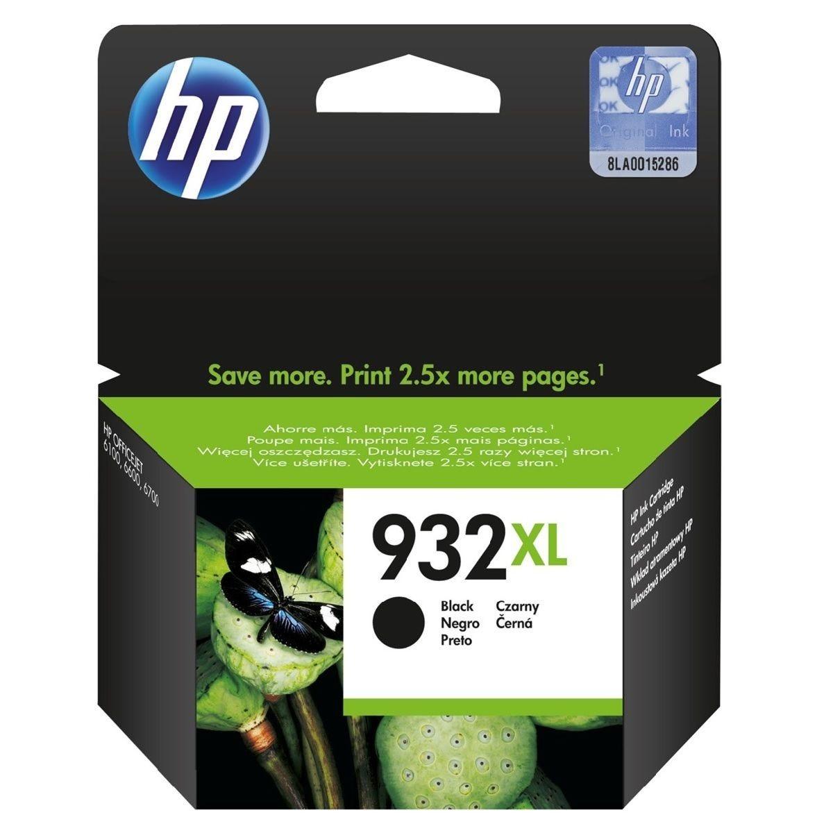 HP Hewlett-Packard 932XL Ink Cartridge - Black