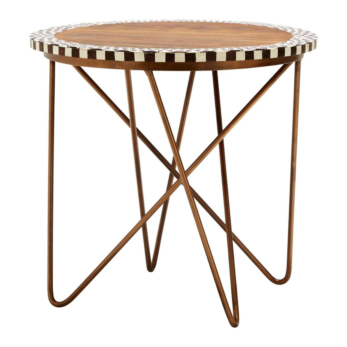 Artisan Acacia Round Side Table