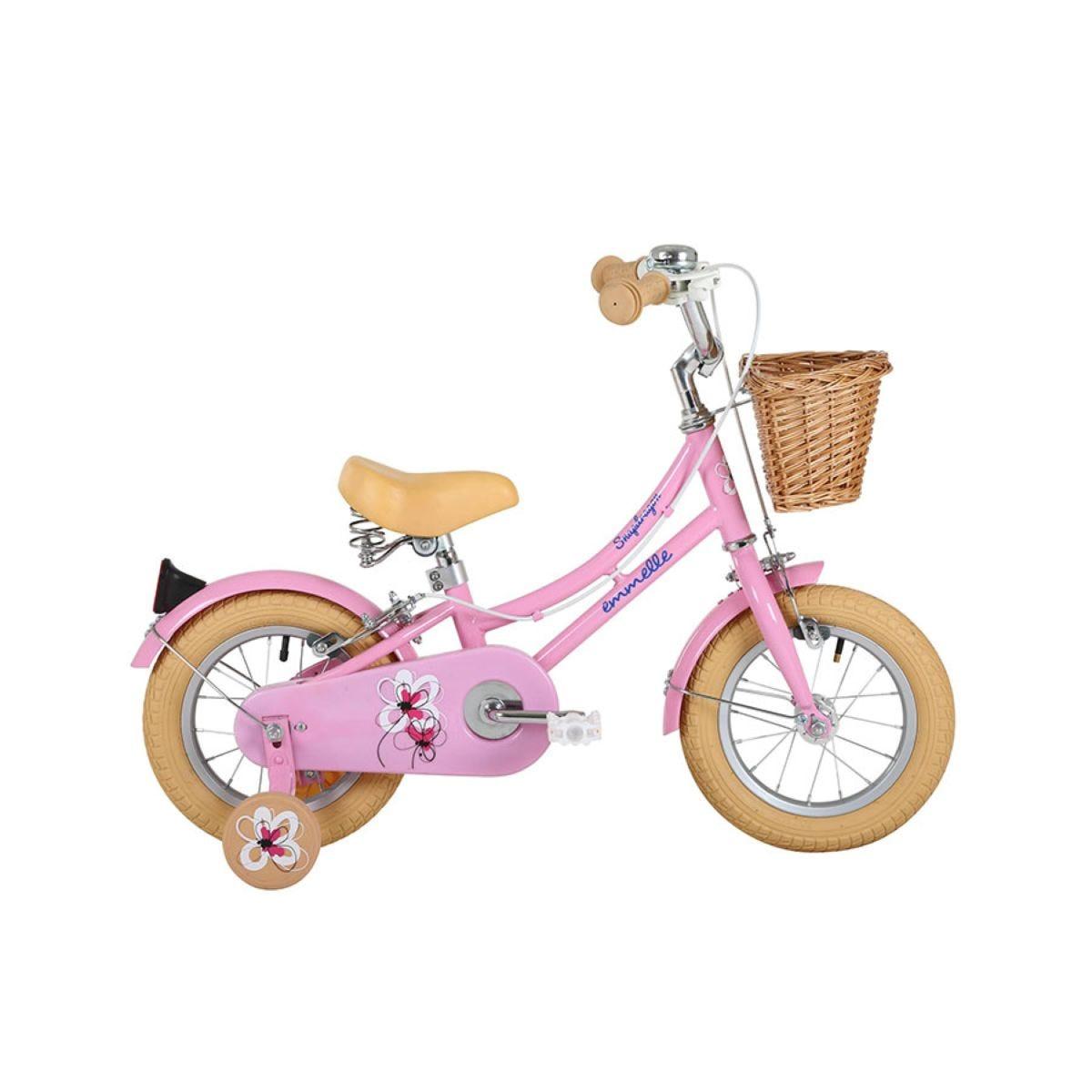 Sonic Emmelle Girls Heritage Snapdragon Bike - Pink/Biscuit