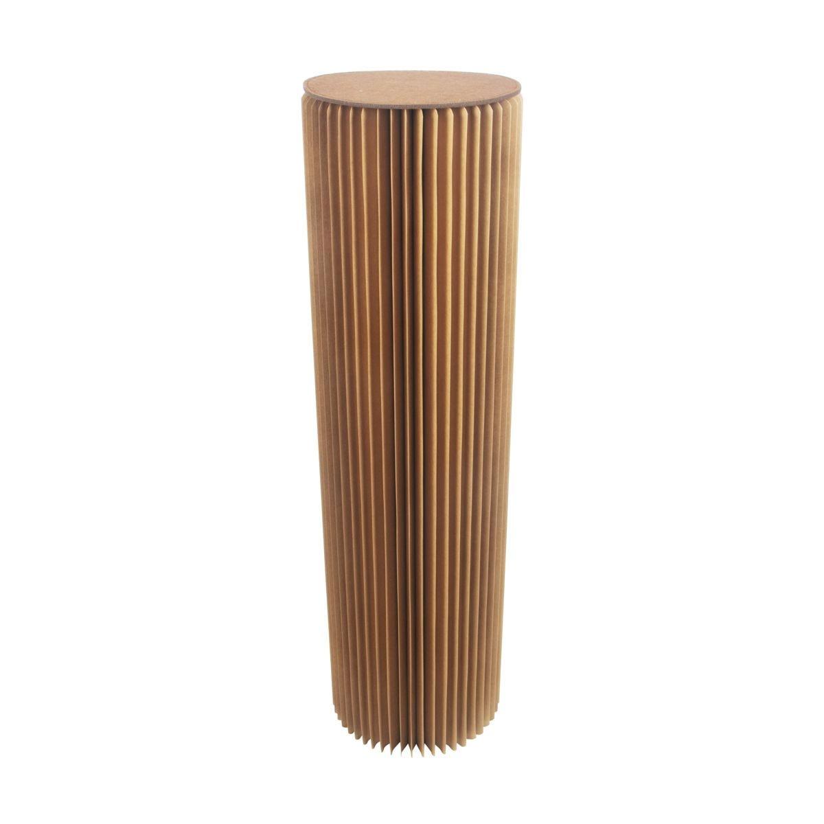 Paper Lounge Brown Pillar – 110cm