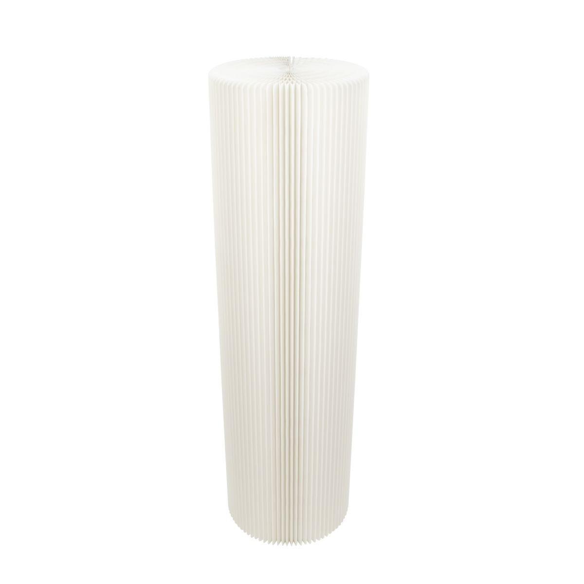 Paper Lounge White Pillar Stool - 110cm