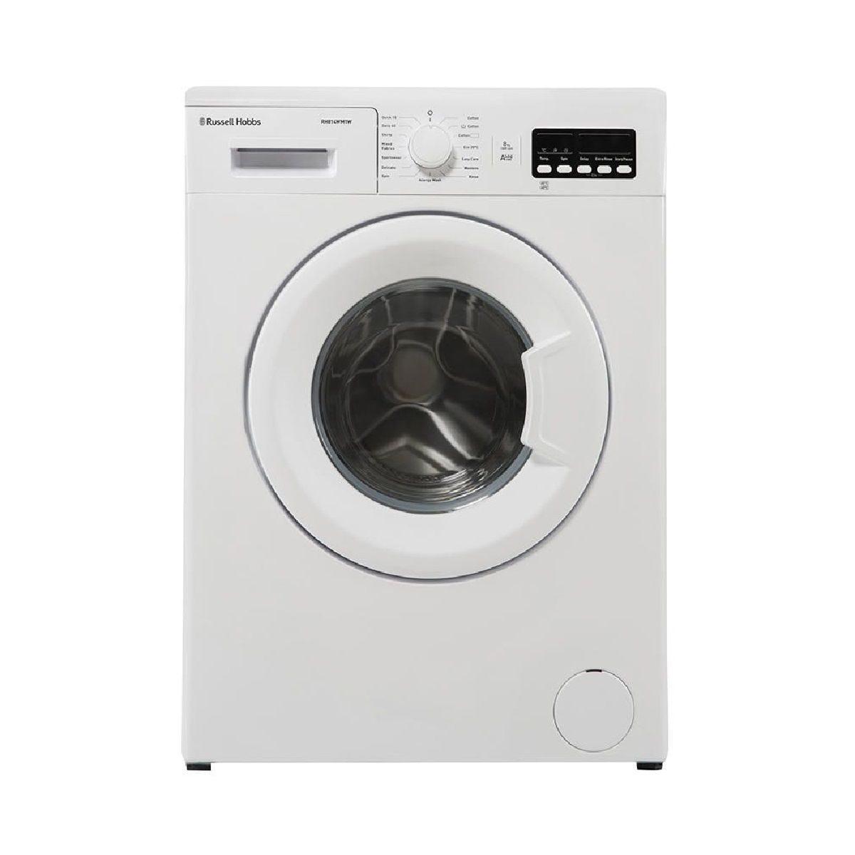 Russell Hobbs RH814WM1W Freestanding 8Kg 1400rpm Washing Machine - White