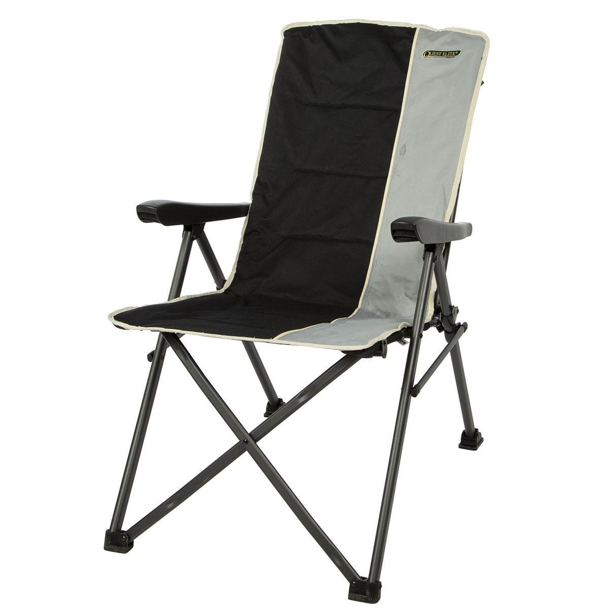 Quest Cumbria Chair - Black/Grey