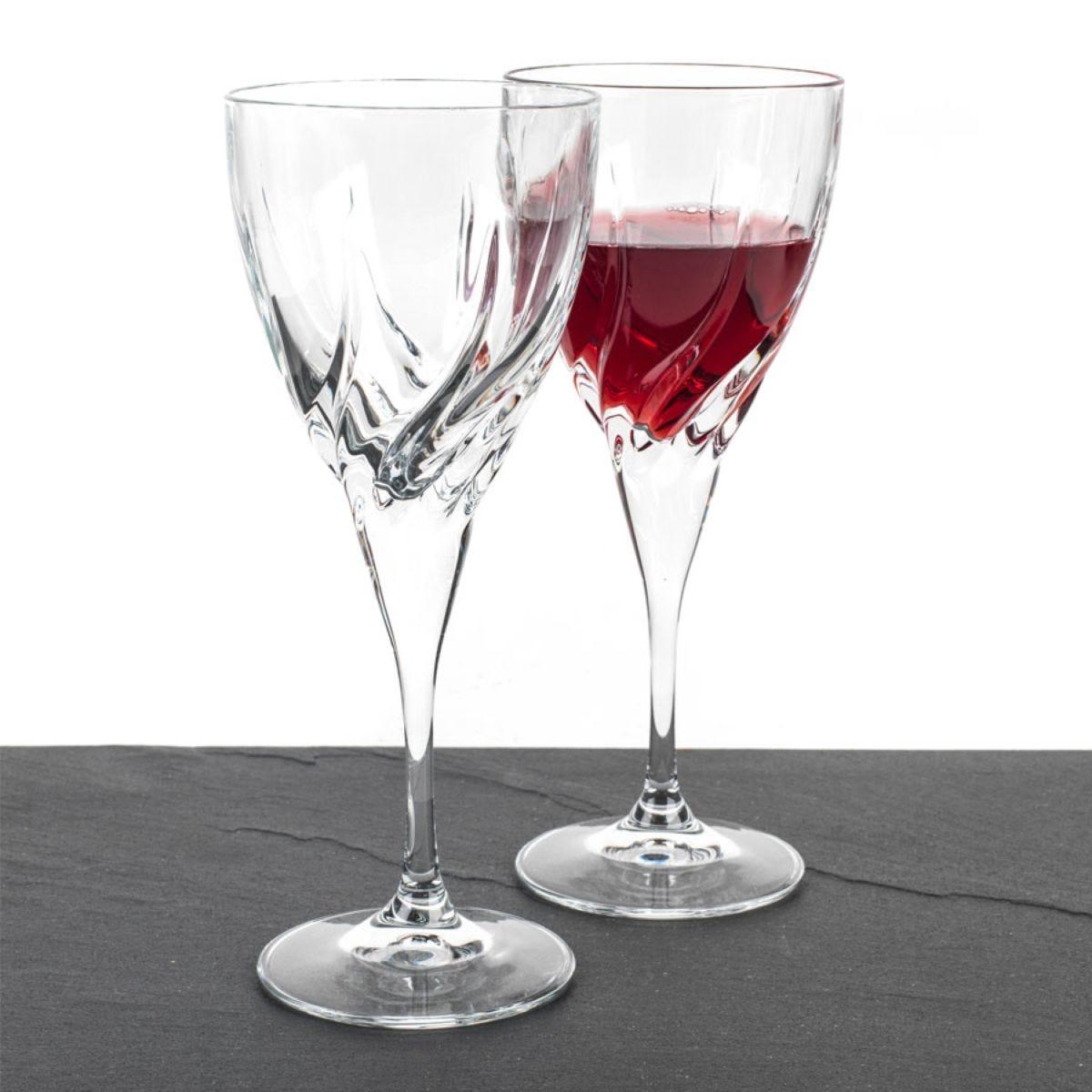RCR Twist Crystal 330ml Wine Glasses - Set of 2