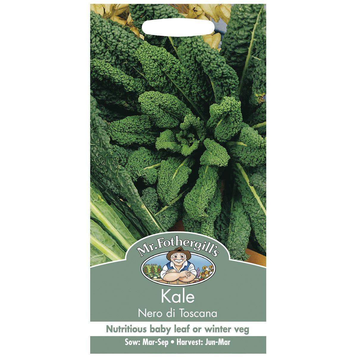 Mr Fothergill's Kale Nero Di Toscana Seeds