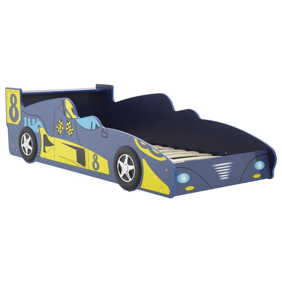 Kids Car Bed - Blue