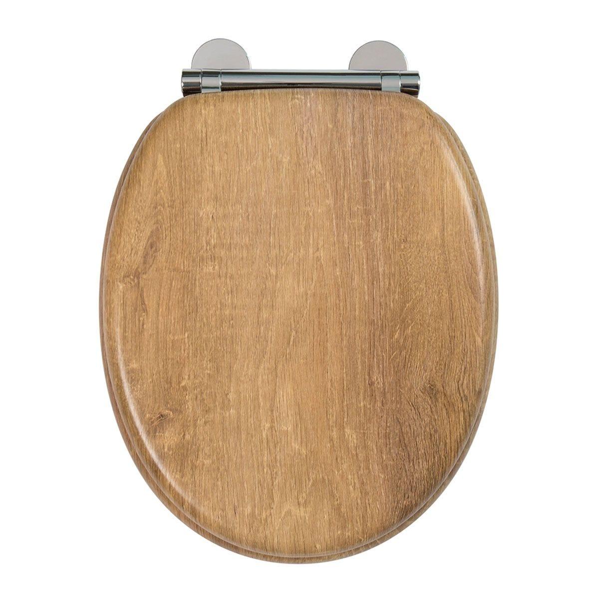 Croydex Flexi Fix Ontario Toilet Seat with Soft Close