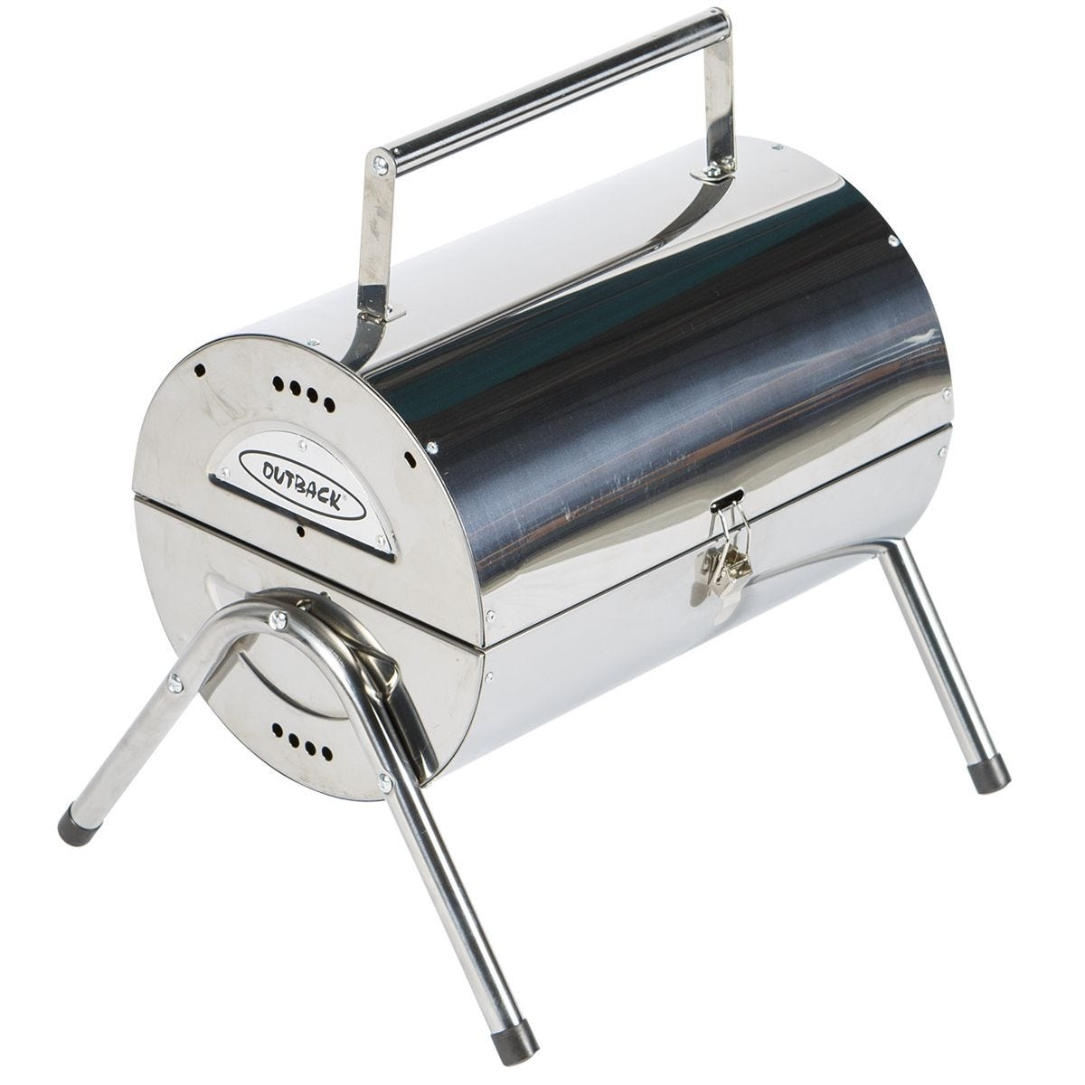 Outback Portable Stainless Steel Charcoal BBQ