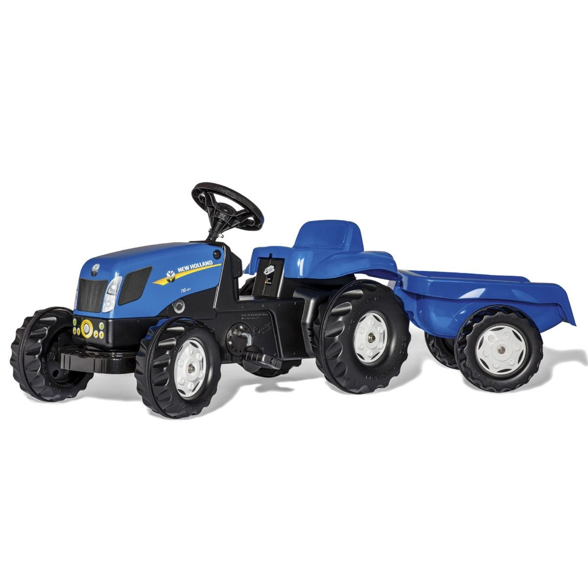 New Holland T7040 Kids Tractor & Trailer